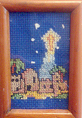 Christian Cross Stitch. New Free Christian Cross Stitch Pattern