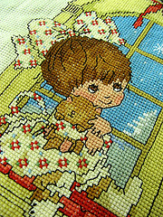 Gloria and Pat Free Sample Cross Stitch Printable Pattern Precious